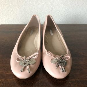 BCBG pink ballet flat (Becky style)